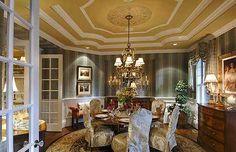 Plan 23220JD: Spectacular Hampton Style Estate