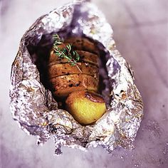 Jamie Oliver's jazzed up jacket potato with garlic, thyme and anchovy prima.co.uk