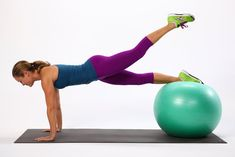 1 Move, Triple Duty - This highly effective exercise tones your butt, arms, and abs at once.