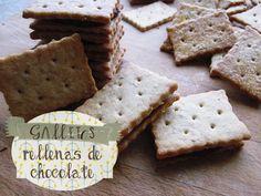 hierbas y especias: Galletas de toda la vida, rellenas de chocolate para que sepas cuánto te quiero