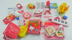 [Rement Miniature] Sanrio Hello Kitty Student Stationery Set / リーメント / 리...