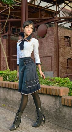 #Steampunk Tendencies | Young Elizabeth - Bioshock Infinite - Tenshi no Sekai #Cosplay #steamPUNK ☮k☮