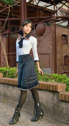 #Steampunk Tendencies | Young Elizabeth - Bioshock Infinite - Tenshi no Sekai #Cosplay