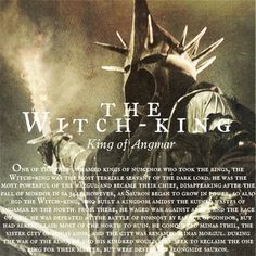 The Witch-King, King of Angmar #lotr #middleearth #nazgul