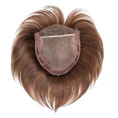 Top Naturelle - Oberkopf-Haarteil aus der pure!power Collection von ellen wille. Dieses unsichtbare und fein gearbeitete Oberkopf-Haarteil kaschiert nicht nur - es gibt Ihrem Oberkopf Fülle.   Das Model trägt auf dem Bild das Haarteil in der Farbe champagne/rooted. Abgebildet im Monturbild ist die Farbe mocca/mix.  Monturgröße: 16x16 cm Material: Echthaar + Lacefront Haarlänge: ca. 11-13 cm