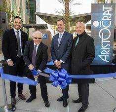 Aristocrat was joined by a delegation of local, state, and international dignitaries to cut the ribbon at the company's new two-building campus in the Las Vegas neighborhood Summerlin Grand Opening Party, Howard Hughes, Building Companies, Opening Ceremony, Monitor, Las Vegas, The Neighbourhood, Diy Ideas, Ribbon