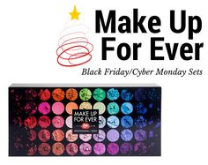 Make Up For Ever Cyber Monday Artist Shadow's Collector's Palette and More!