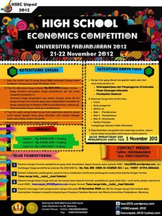 Economics Competition 2012 UNIVERSITAS PADJADJARAN Economics Competition 2012   UNIVERSITAS PADJADJARAN