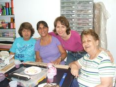 Celebrando mi cumpleaños con mis alumnas de Prados del Este
