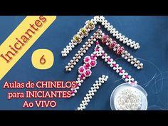 Aula CHINELOS Bordados (Aula 6)Trama Básica | Vários Modelos - Maguida Silva - YouTube