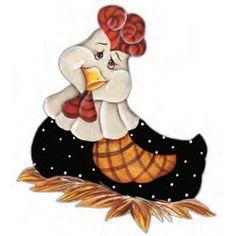 Aplique Madeira e Papel Vaquinha Cozinheira LMAPC-125 - Litocart - PalacioDaArte Chicken Crafts, Chicken Art, Tole Painting, Fabric Painting, Chicken Quilt, Cartoon Chicken, Country Chicken, Chicken Painting, Arte Country