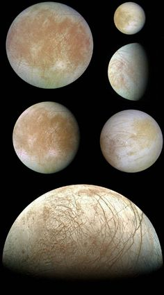 Gibbous Europa-Although the phase of this moon might appear familiar, the moon itself might not. In fact, this gibbous phase shows part of Jupiter's moon Europa. ESA and NASA have together started preliminary development of the Europa Jupiter System Mission , a spacecraft proposed to better study Europa.