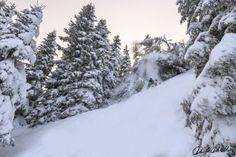 The last cliff of the day #freeride #ski Davide Dal Mas www.davidedalmas.com