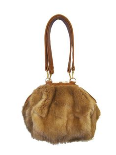 Fur Rebecca Jane Handbag, yes please