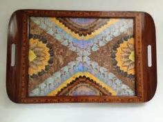 Images Butterfly Wings, Mosaic, Tray, Home Decor, Image, Decoration Home, Room Decor, Trays, Interior Design