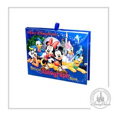 Surprise your kids with a Walt Disney World vacation with a magical message in this autograph book!