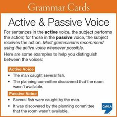 Active passive writing exercises