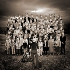 Mad Bunny at daughter's wedding by yves.lecoq, via Flickr