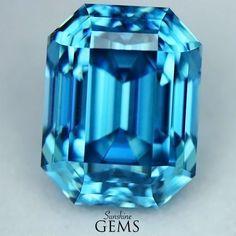 4.45ct Blue Zircon MJ6244 $845