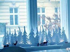 новогодние украшения из бумаги для дома своими руками - Поиск в Google
