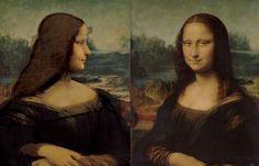 Portrait of Isabella d'Este and La Joconde, Leonardo da Vinci. Renaissance, Mona Lisa, Portrait, Lady, Artwork, Work Of Art, Headshot Photography, Auguste Rodin Artwork, Portrait Paintings