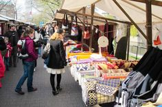 ღღ Berlin,Maybachufer (Kreuzberg) - Market every Tuesday and Thursday ~~~   Markt am Kreuzberger Maybachufer, wo immer dienstags und freitags die Händler alles mögliche verkaufen