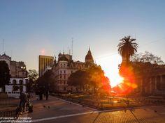 https://flic.kr/p/v3VWH3 | Cae el sol en la ciudad. The sun sets in the city. | Buenos Aires - Argentina.