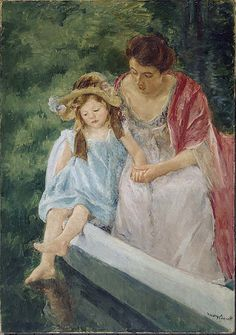 Mary Cassatt - Mother and Child in Boat