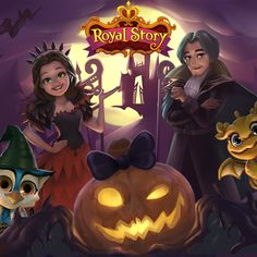 New Loading Picture! Play NOW! http://t.funplus.com/trenfpo  The Kingdom is getting ready for Halloween. Play Royal Story now to check the new fantastic Loading Picture! It's a Halloween exclusive!  Click Like & Share to tell everyone! #RoyalStoryTwitter