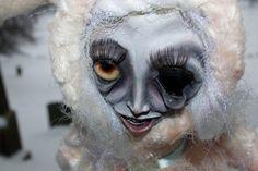 Spooky Ooak Art Doll in Handmade Rabbit Suit by TheHauntedVessel, $250.00