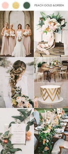 Цветови комбинации, на които да заложим за сватба