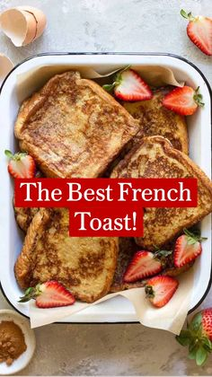 Best Breakfast Recipes, Sweet Breakfast, Breakfast Dishes, Brunch Recipes, Best French Toast, Cooking Recipes, Healthy Recipes, Morning Food, Crepes