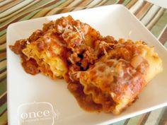 Classic Lasagna Rolls recipe #freezercooking #lasagna #oamc