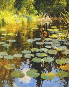 Frank Benson...Lily Pond