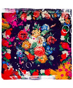 Textures Patterns, Print Patterns, Botanical Prints, Floral Prints, Fabric Design, Print Design, Liberty Scarf, Small Scarf, Summer Prints