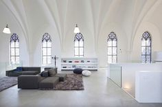 yeah buying myself a church - Eglise-convertie-en-maison-moderne-2