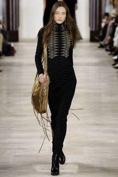 Ralph Lauren Fall 2016 Ready-to-Wear Fashion Show - Yumi Lambert