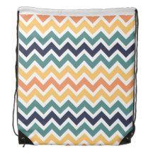 chevron pattern backpack