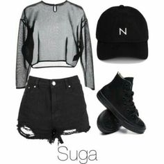 Korean Fashion Trends you can Steal – Designer Fashion Tips Kpop Fashion Outfits, Edgy Outfits, Dance Outfits, Cute Casual Outfits, Korean Outfits Kpop, Korean Fashion Trends, Korean Street Fashion, Bts Clothing, Mode Kpop