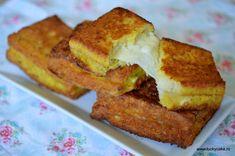 Crochete cu Mozzarella Mozzarella, Oreo, Biscuit, French Toast, Sandwiches, Breakfast, Cake, Desserts, Food