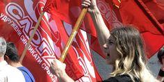 Слога: Радници у Србији боре се за права за која су се у свету људи борили пре 1,5 века - http://www.vaseljenska.com/wp-content/uploads/2017/05/Sindikati_Sloga_odrzao_je_protest_u_Krusevcu.jpg  - http://www.vaseljenska.com/drustvo/sloga-radnici-u-srbiji-bore-se-za-prava-za-koja-su-se-u-svetu-ljudi-borili-pre-15-veka/