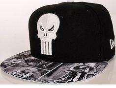 MARVEL x NEW ERA「Punisher Visor Story」59Fifty Fitted Baseball Cap Punisher  Marvel 7f2a10a7ef9