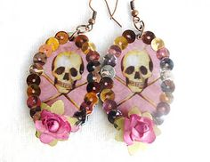 'La Calavera' Earrings