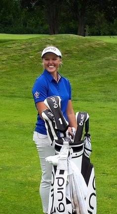 Brooke Henderson - young professional golfer from Smiths Falls, Ontario