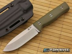 SURVIVE! Knives GSO 4.1 OD Green G10 CPM-3V