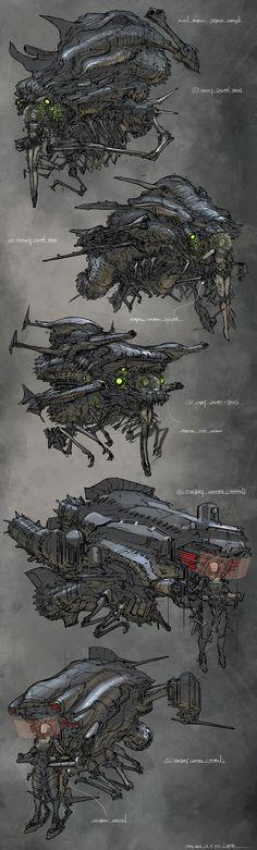 concept ships: Feng Zhu ships