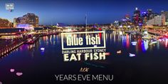 SpendNew Years Eve with us! Enjoy the Fireworks, relax and enjoy a real Sydney Atmosphere while enjoying Darling Harbours best and freshest … New Years Eve Menu, New Year Menu, Blue Fish Restaurant, Darling Harbour, Fresh Seafood, Fireworks, Sydney, Period, Relax