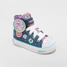 NEW Garanimals Girls Size 10 Silver Glitter Light Up Shoes Velcro