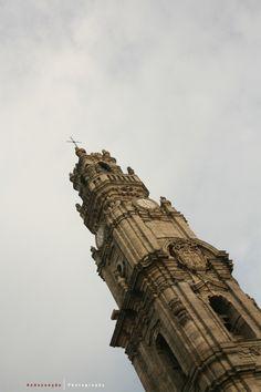 Clérigos Tower, in Oporto city, Portugal