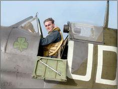Flight Lieutenant Brendan Eamonn 'Paddy' Finucane DFC, an Irishman who flew with…